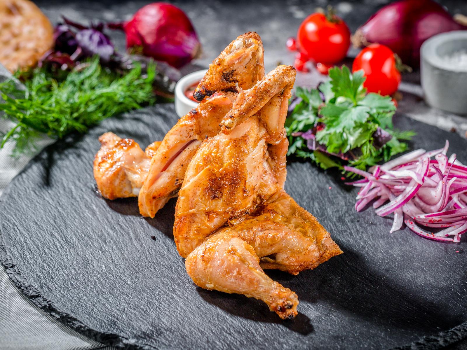 Цыпленок в тандыре