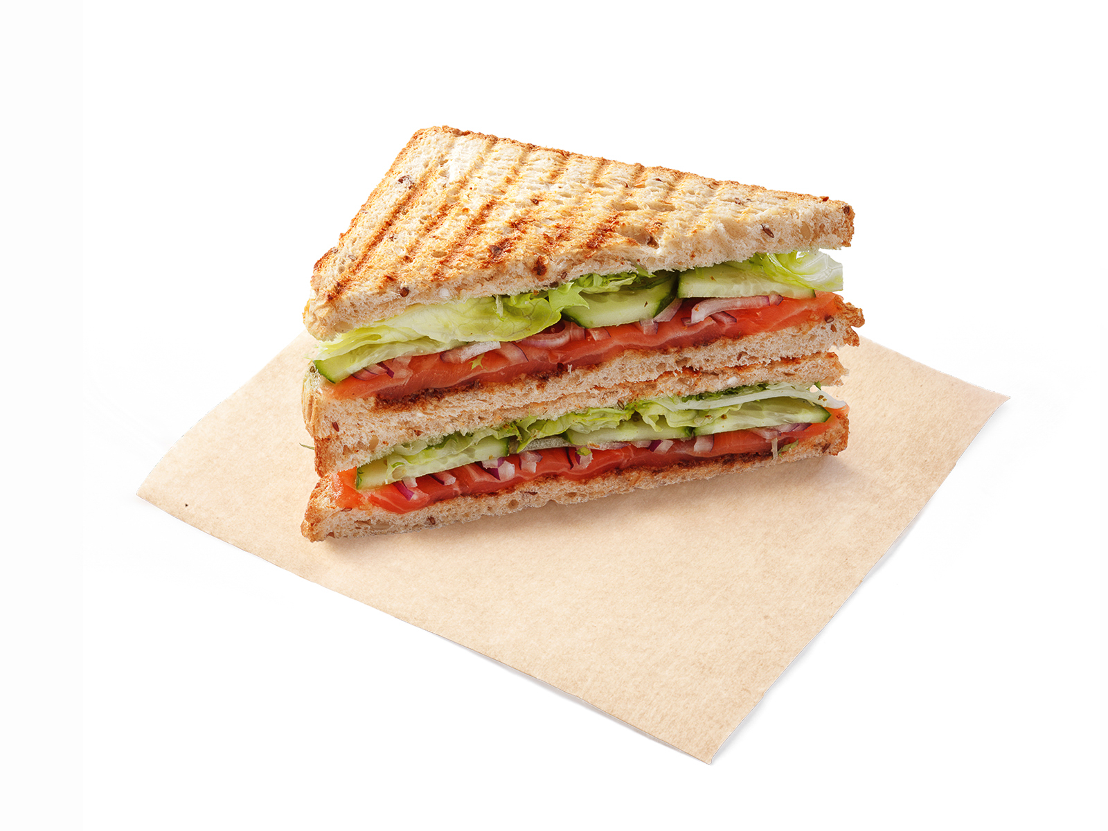 Сэндвич Норвежская семга