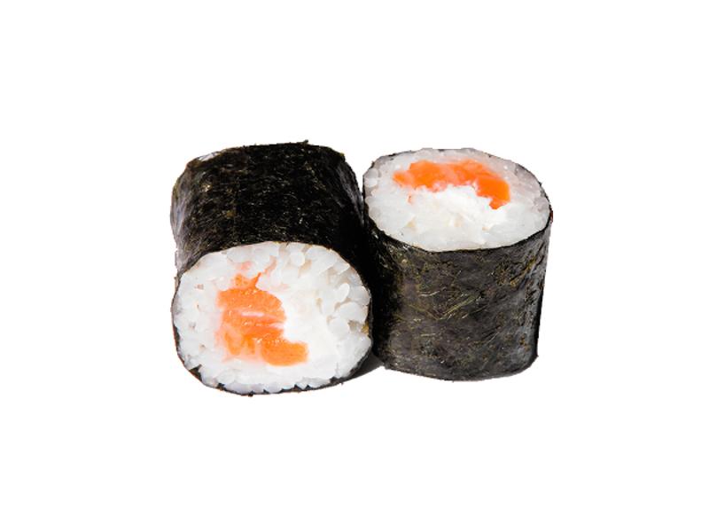 Роллы с лососем и сыром