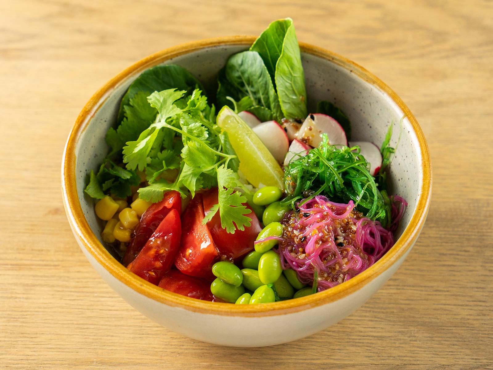Поке боул с овощами