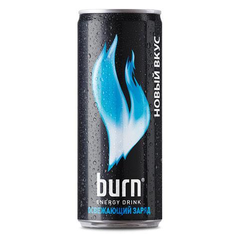Burn освежающий заряд ж/б