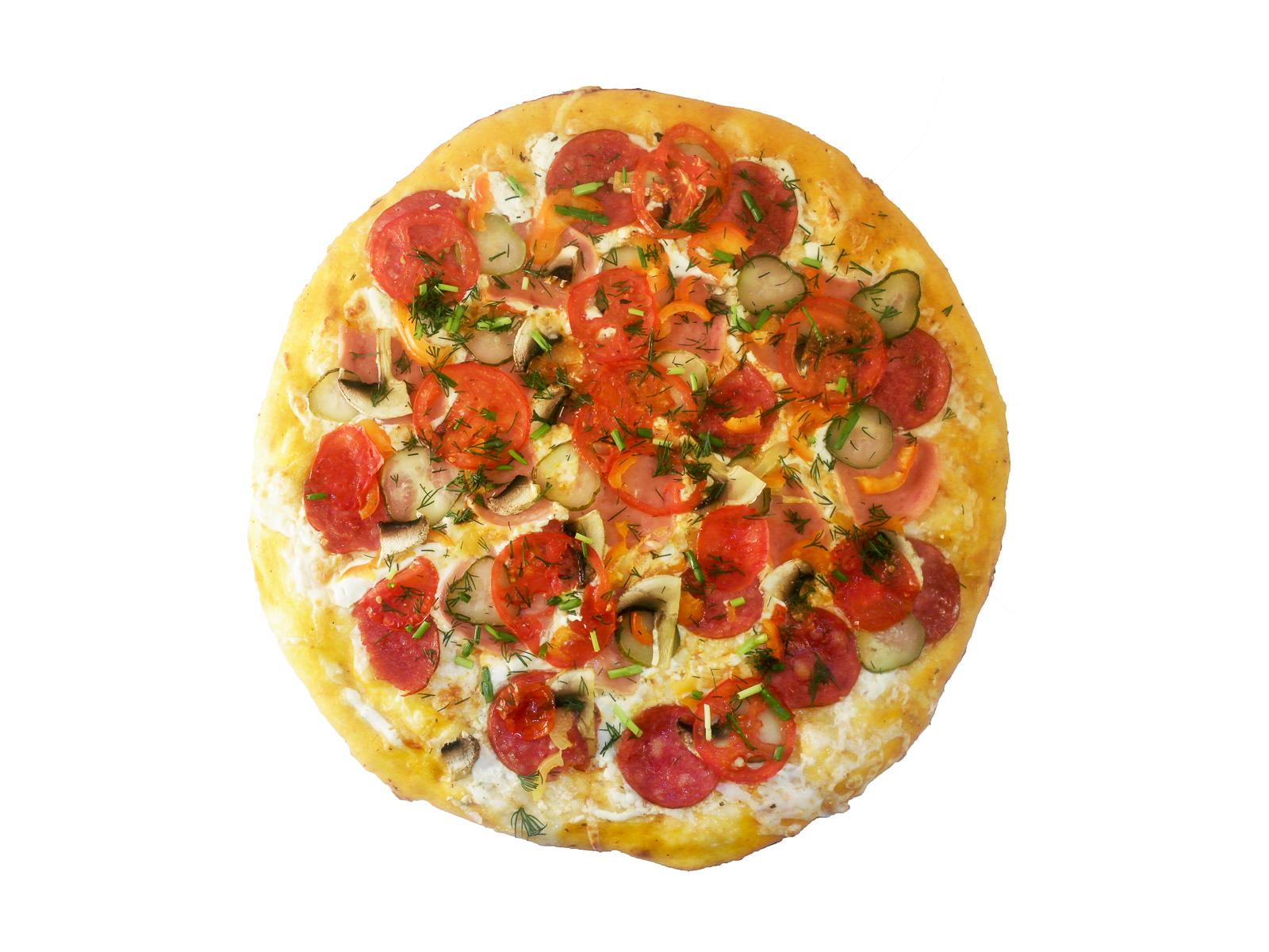 Пицца Золотой гребешок