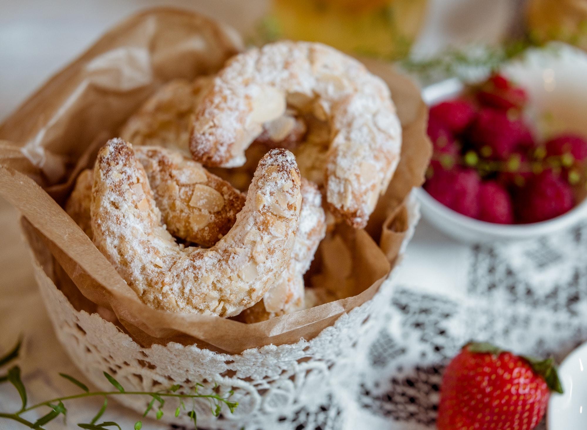 Печенье Миндальный рогалик