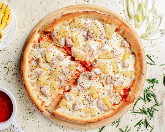 Пицца Индейка с ананасом малая