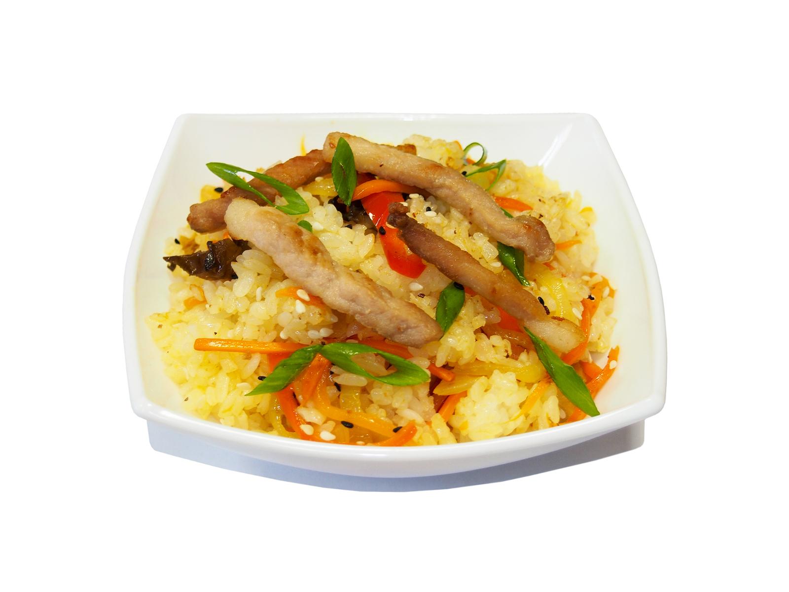 Тяхон свинина в сливочно-чесночном соусе