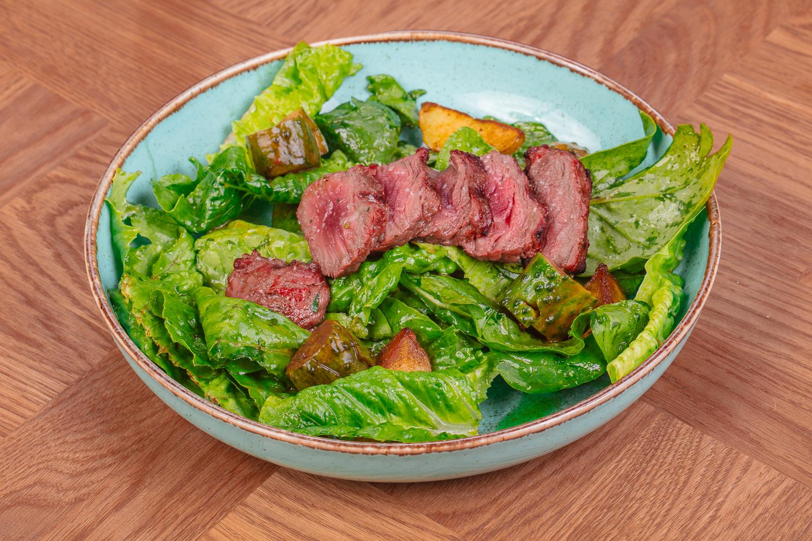 Стейк-салат