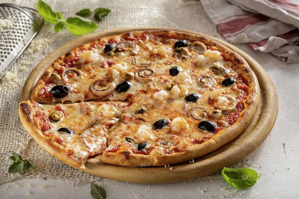 Пицца Маринара 28 см, на тонком тесте