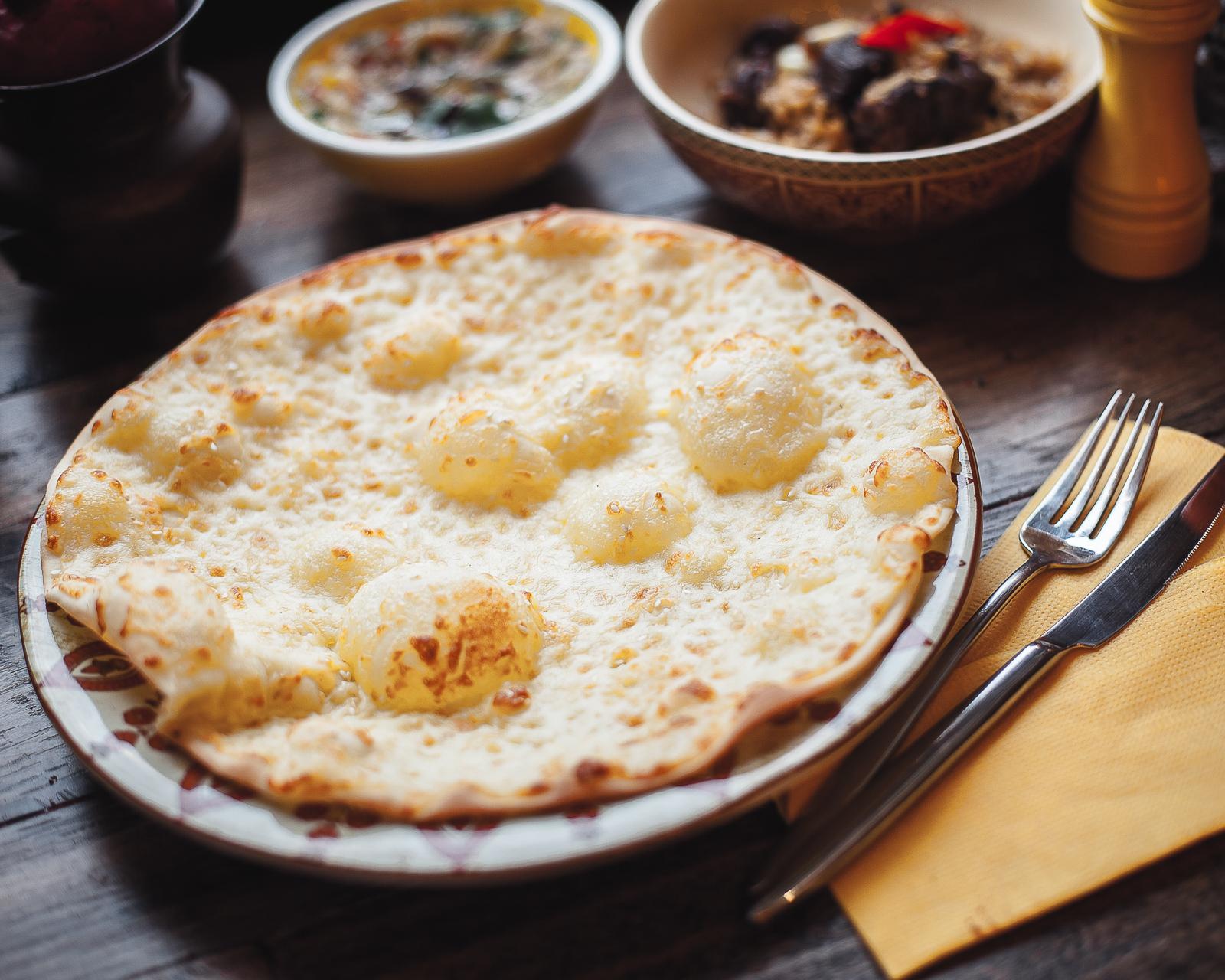 Лепешка Лаффа с сыром