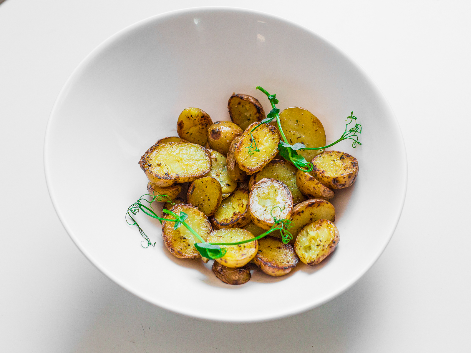Картофель-бэйби жареный