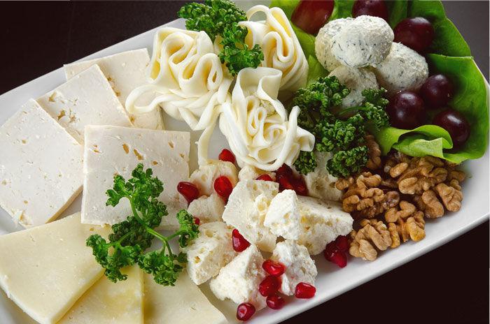 Ассорти сыров: кавказские