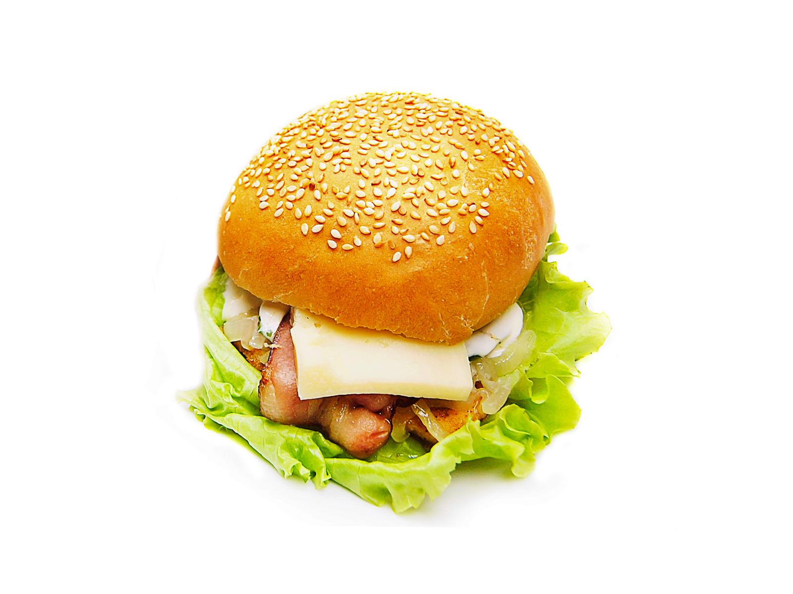Бургер цыпленок Бекон