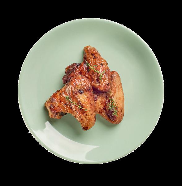 Крылья куриные в чесночном маринаде гриль