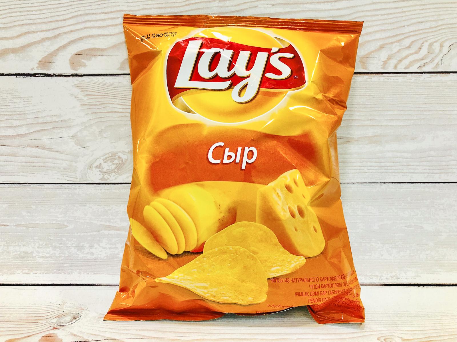 Чипсы Lays с сыром