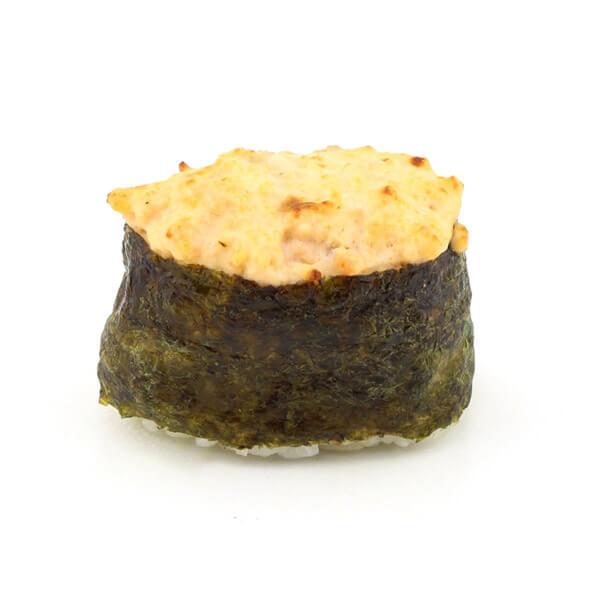 Запеченный суши с креветкой