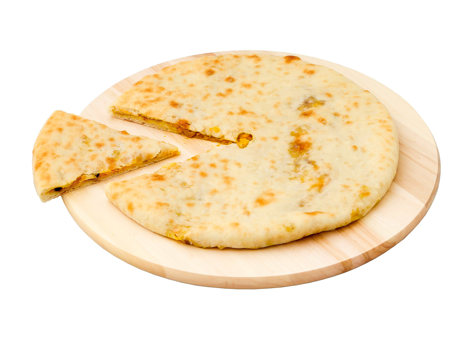 Осетинский пирог с курицей и сыром