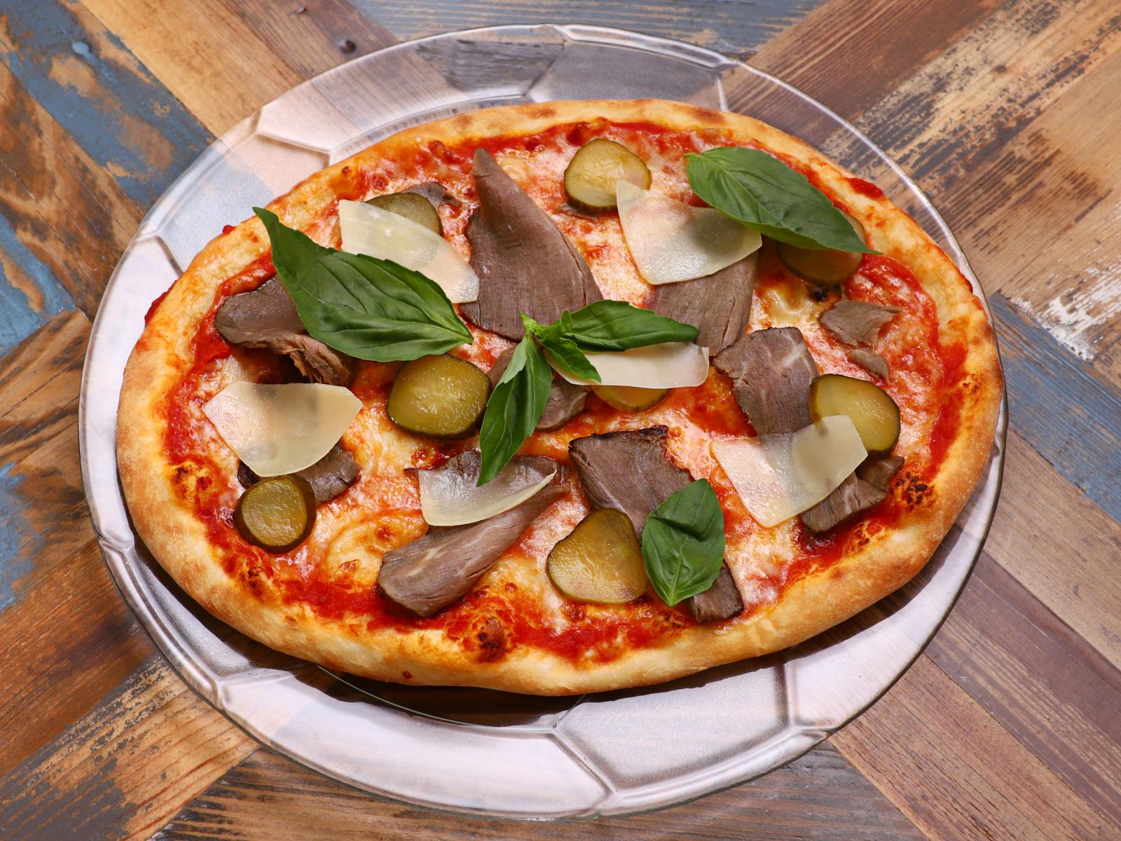 Пиццетта с ростбифом