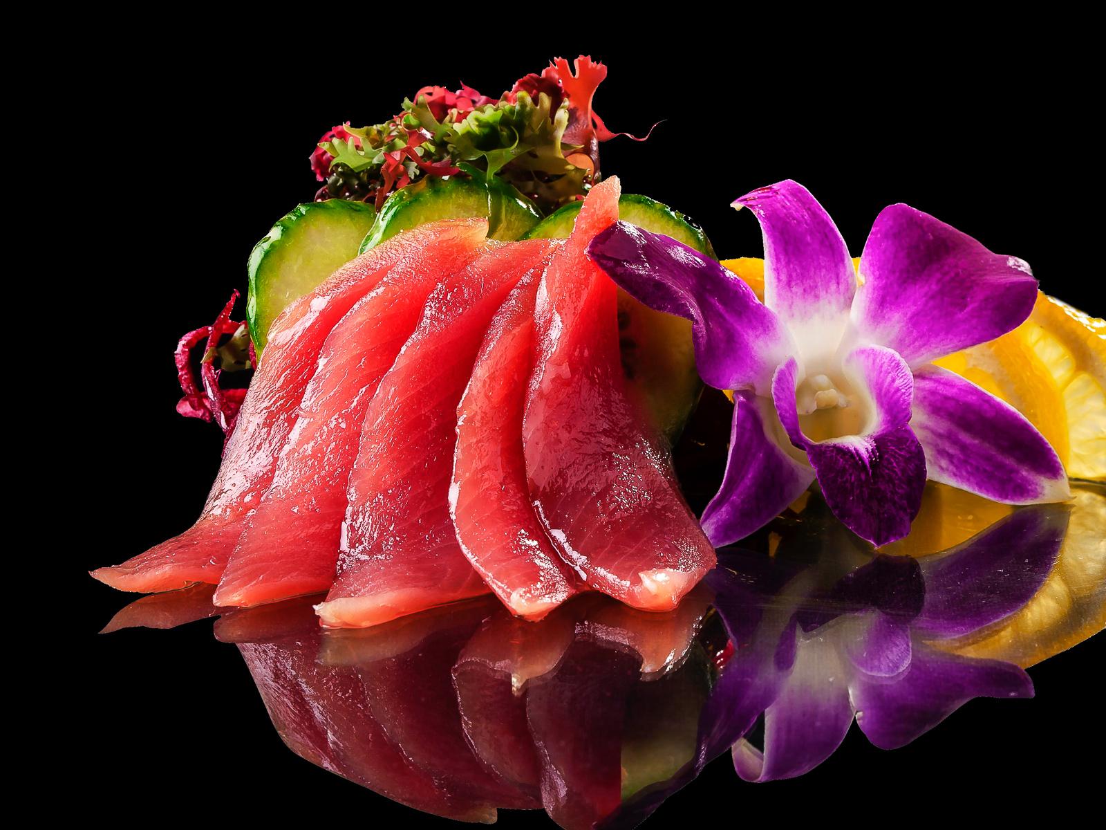 Сашими с тунцом