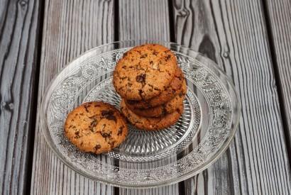 Миндальное печенье с шоколадом