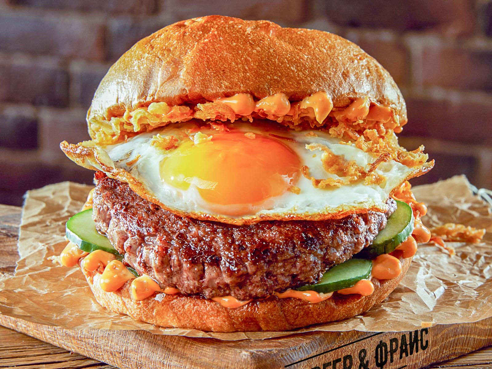 Большой брянский бургер