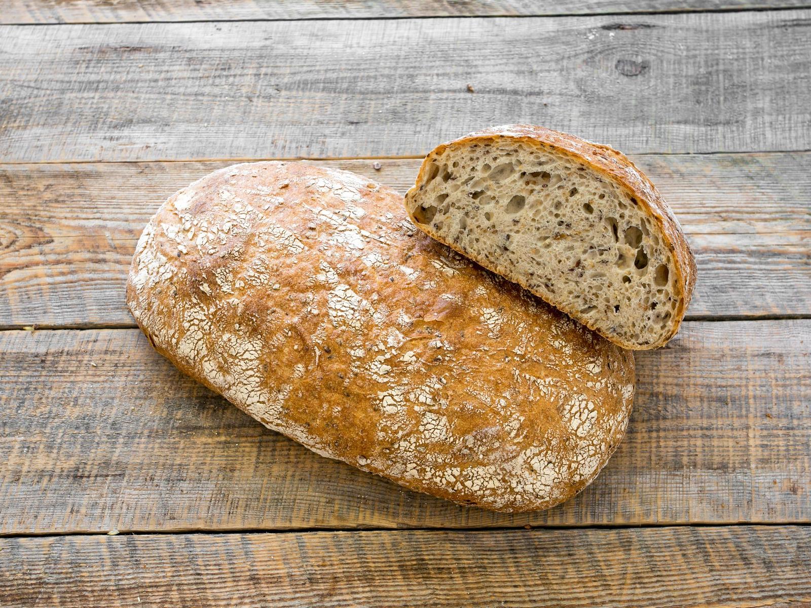 Хлеб Зерновой светлый