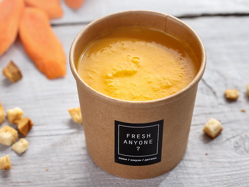 Морковный суп с нутом