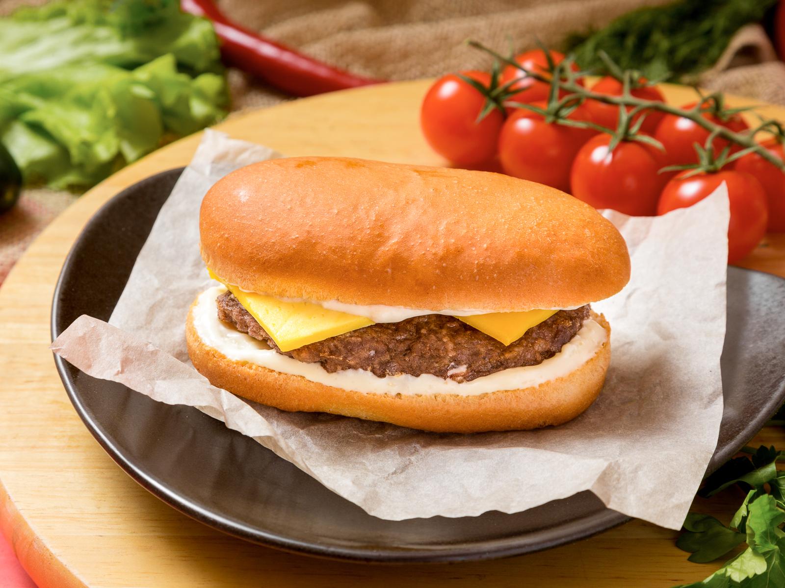 Бутерброд с бифштексом