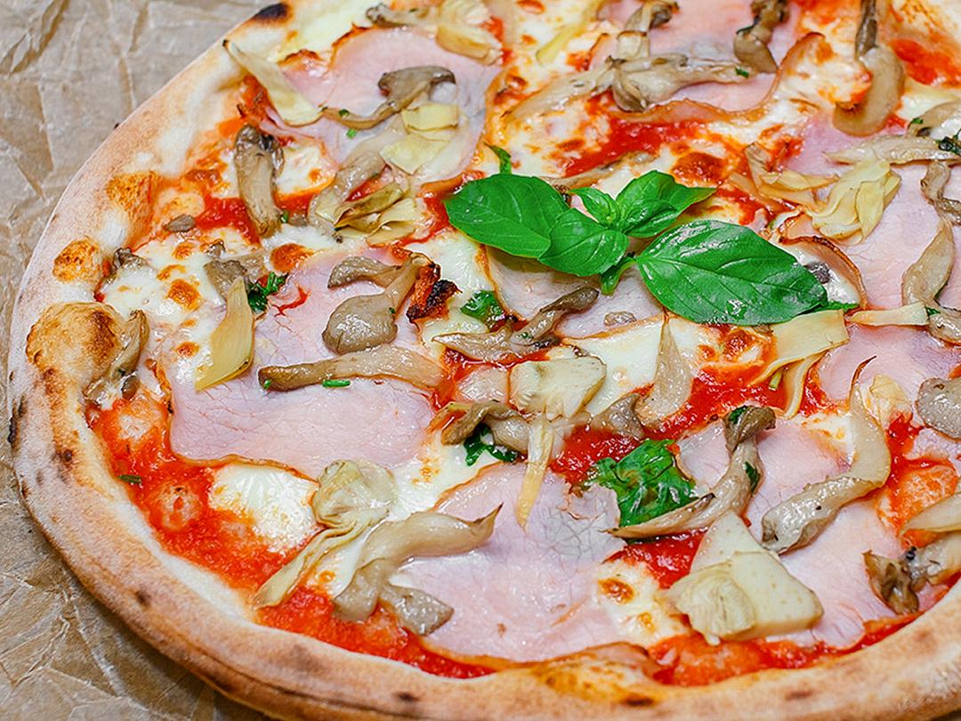 Пицца Окорок с артишоками