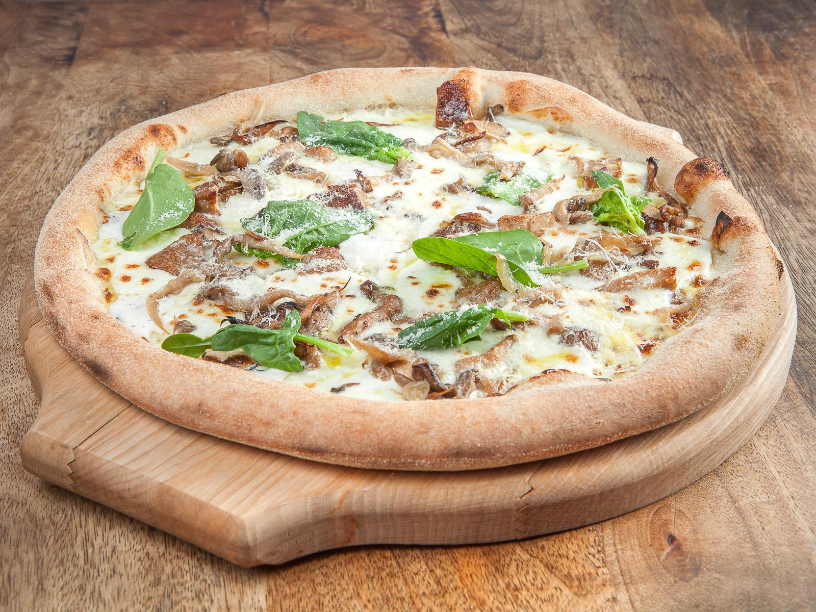 Пицца Белые грибы