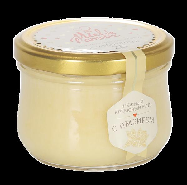 Крем-мёд Miel de lamour цветочный с имбирем
