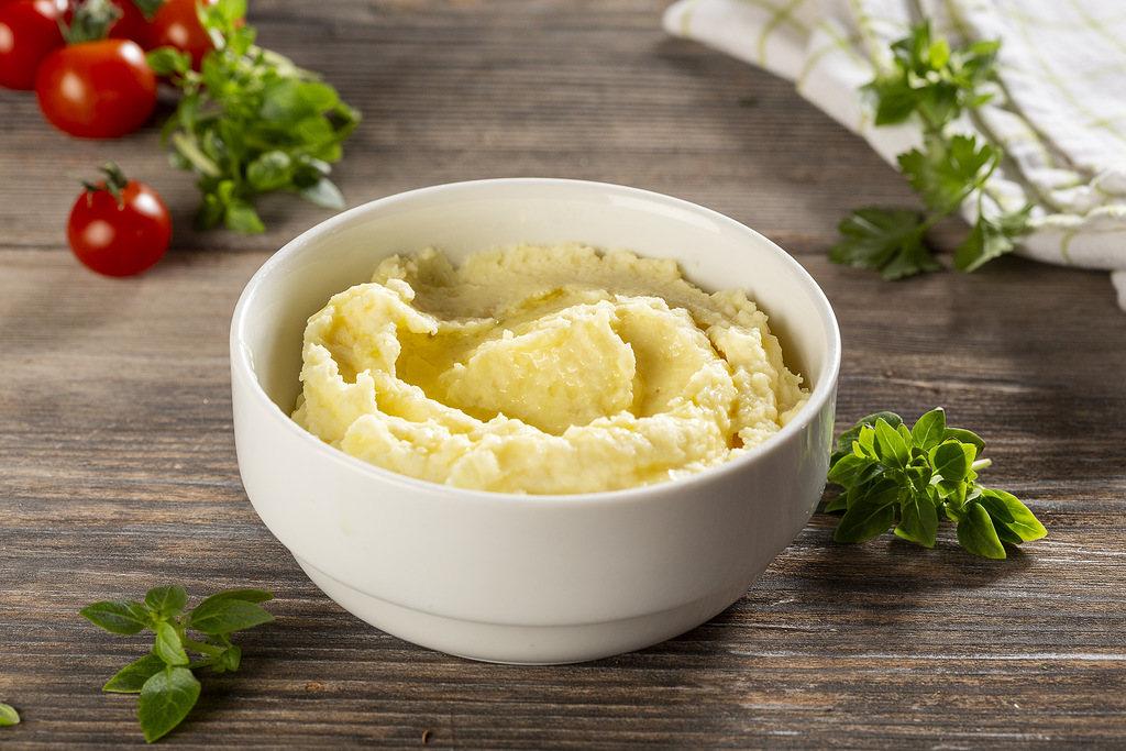 Пюре картофельное по-деревенски