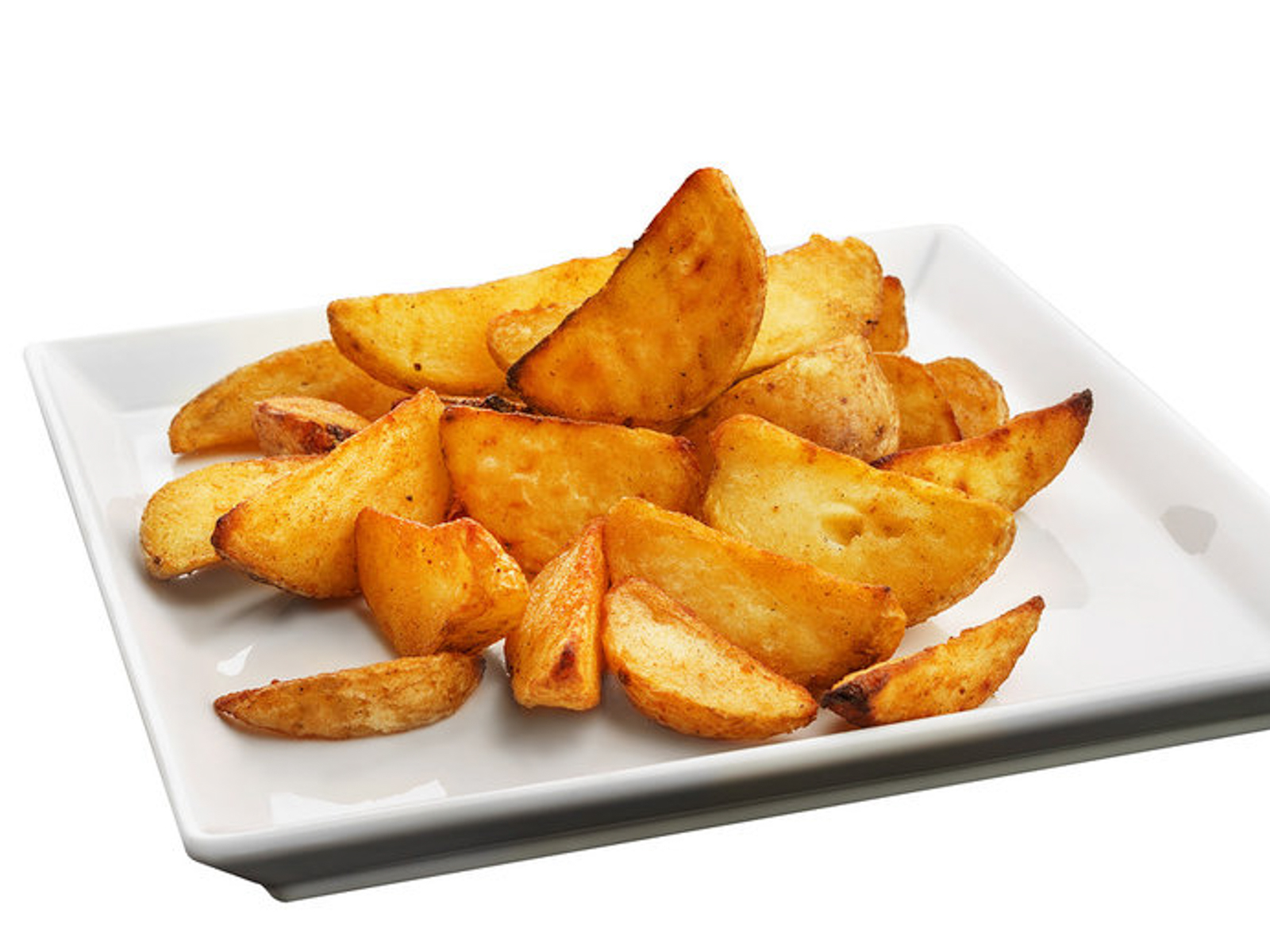 Картофельные дольки по-деревенски