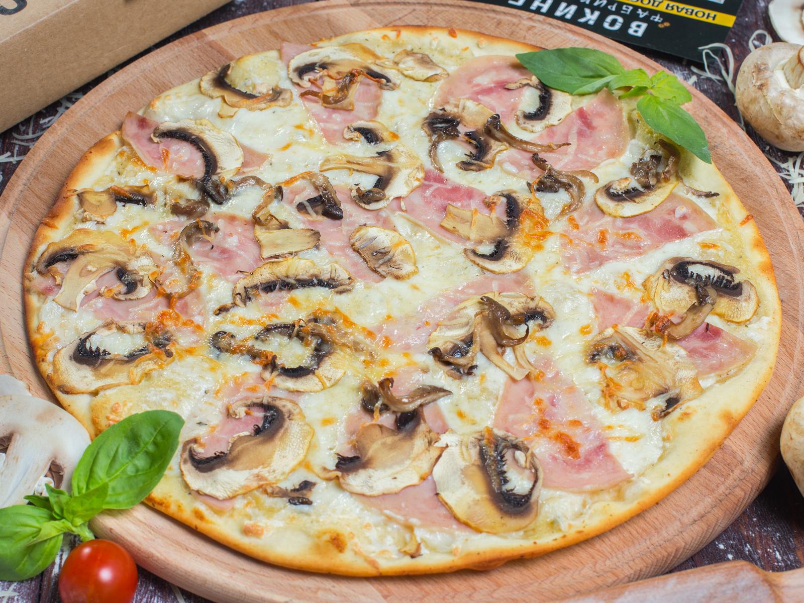 Пицца Любимая на толстом тесте