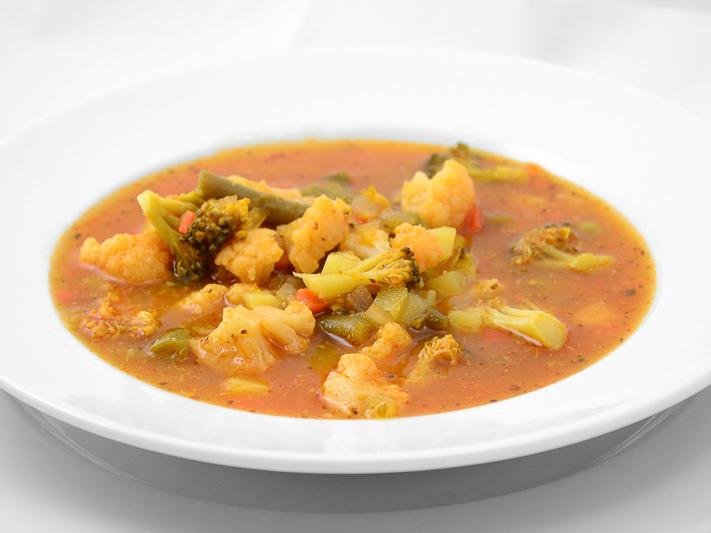 Овощной суп Минестроне