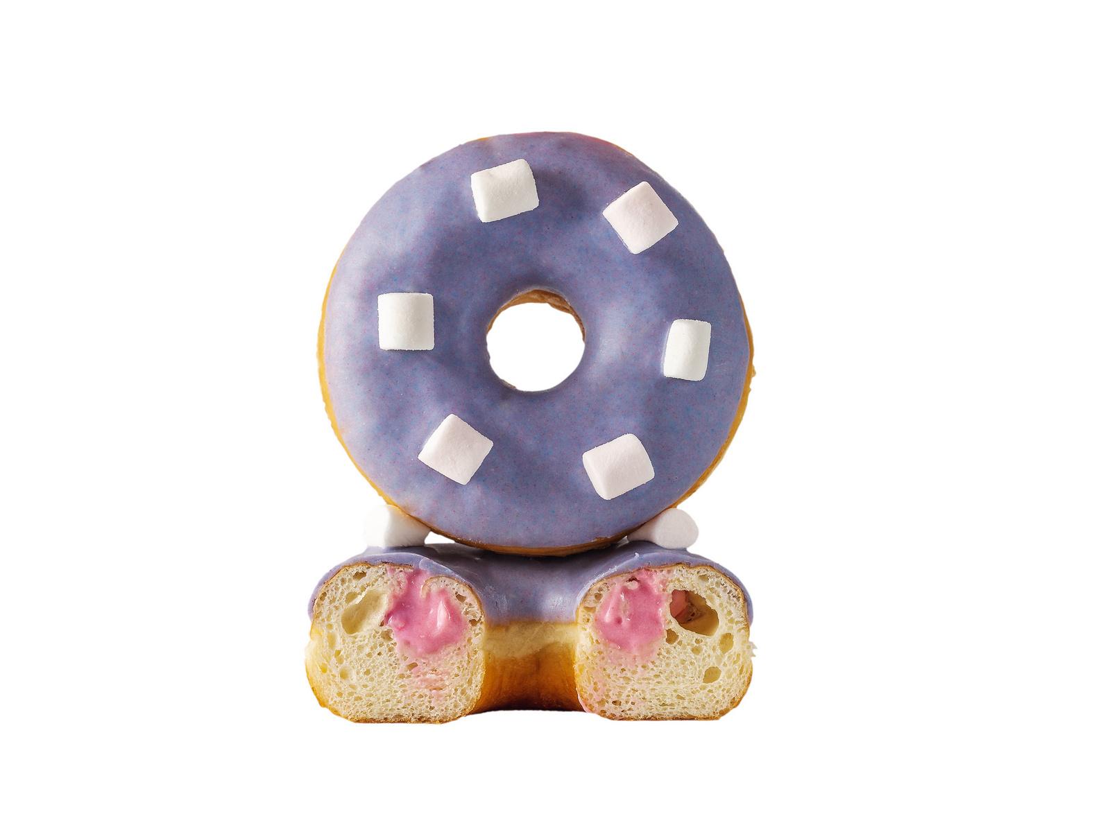 Пончик Малиновый