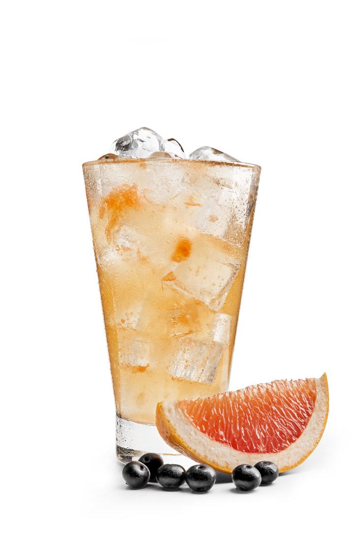 Лимонад грейпфрут-бузина