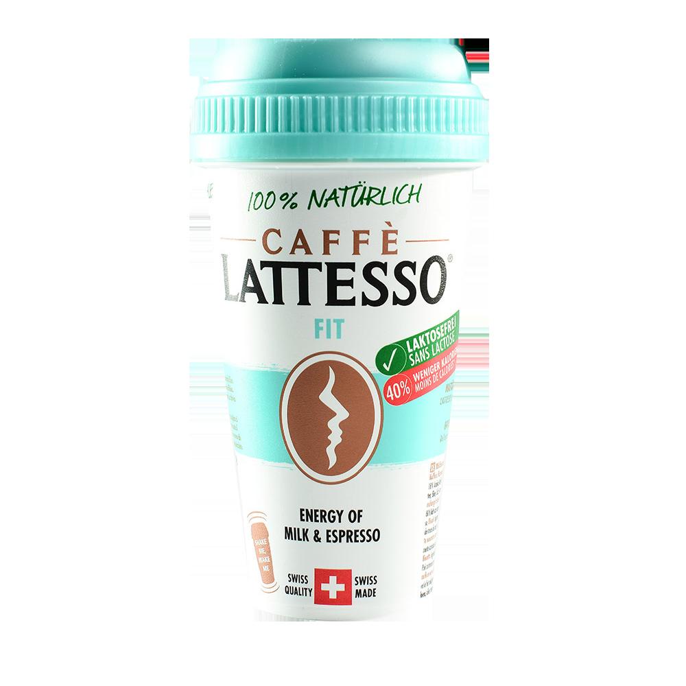 Напиток кофейный Caffe LATTESSO FIT 1,2% с печеньем