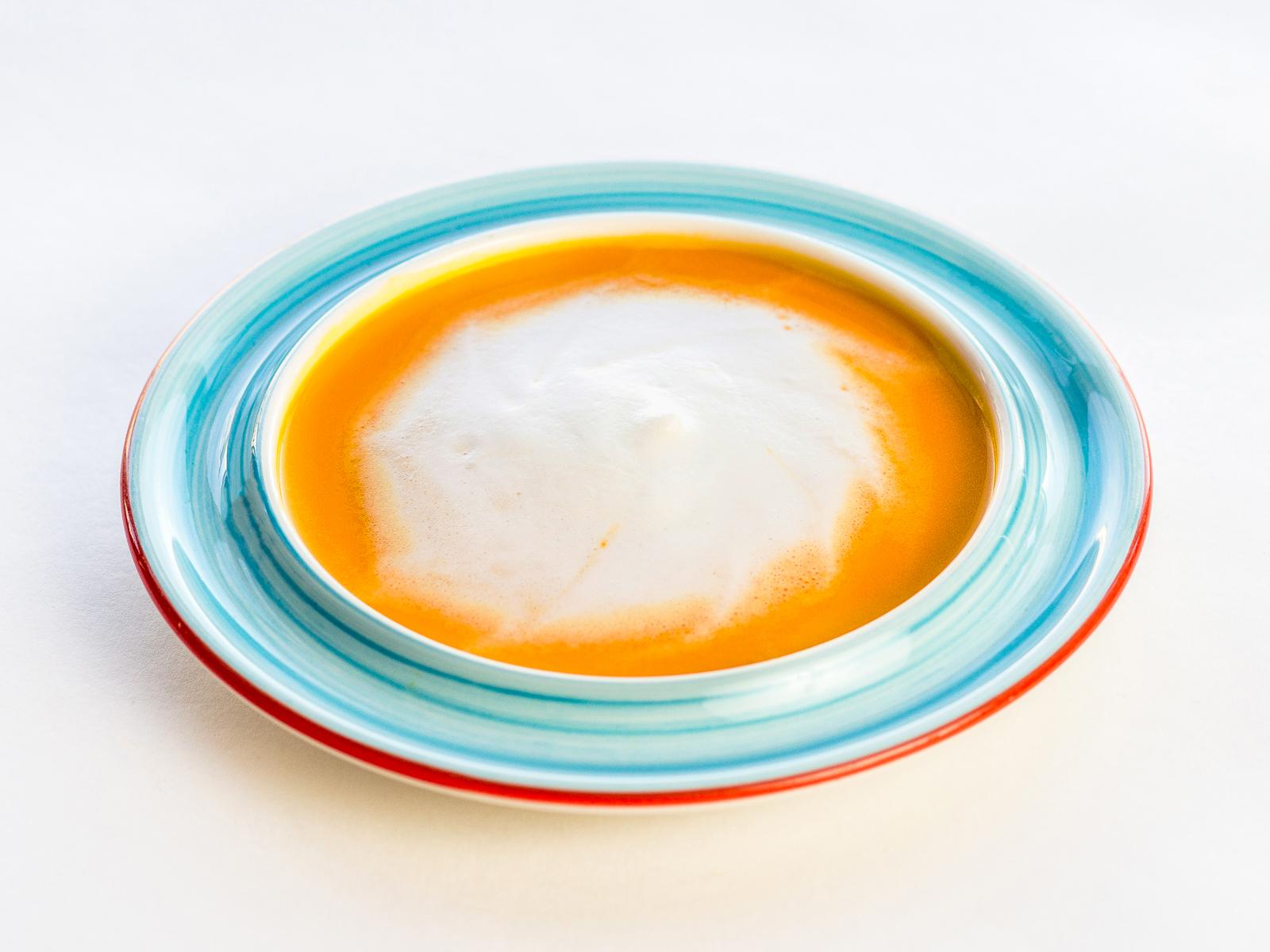 Тыквенный крем-суп капучино