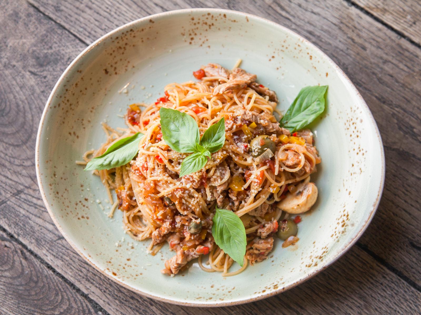 Спагетти Майоли