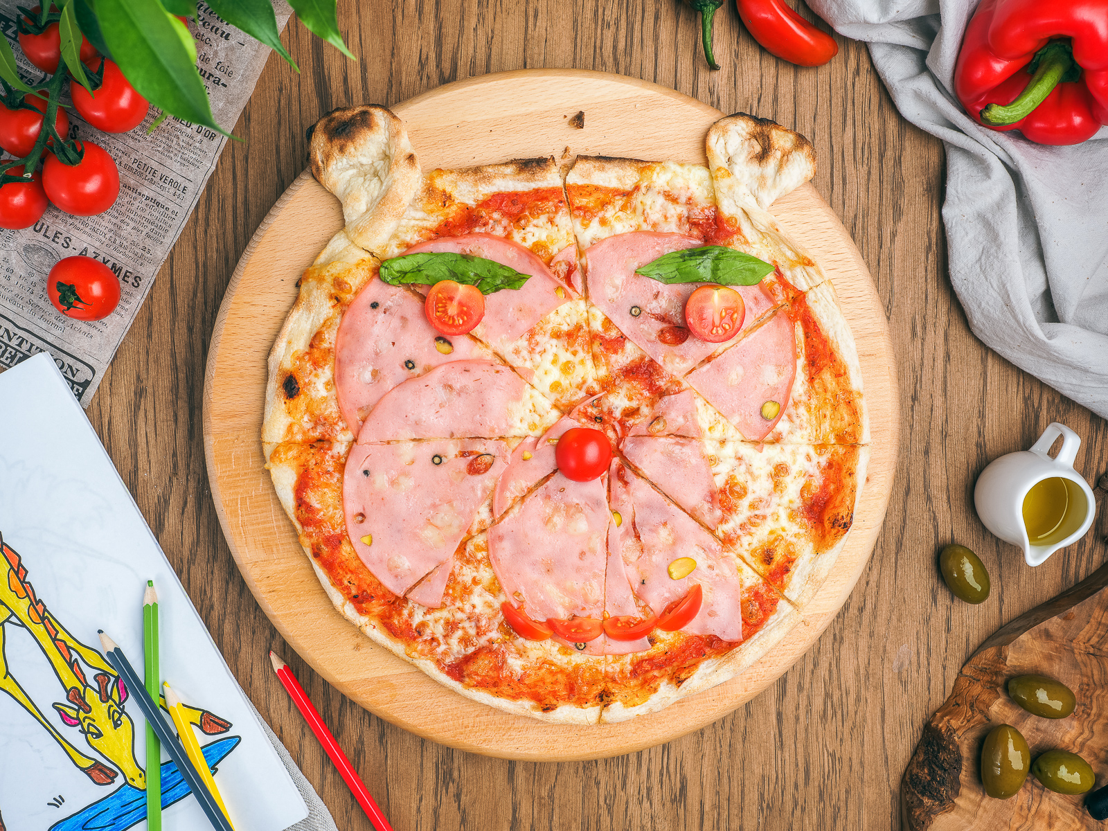 Пицца Пер бамбини