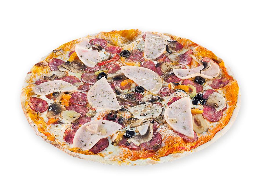 Пицца Колобок