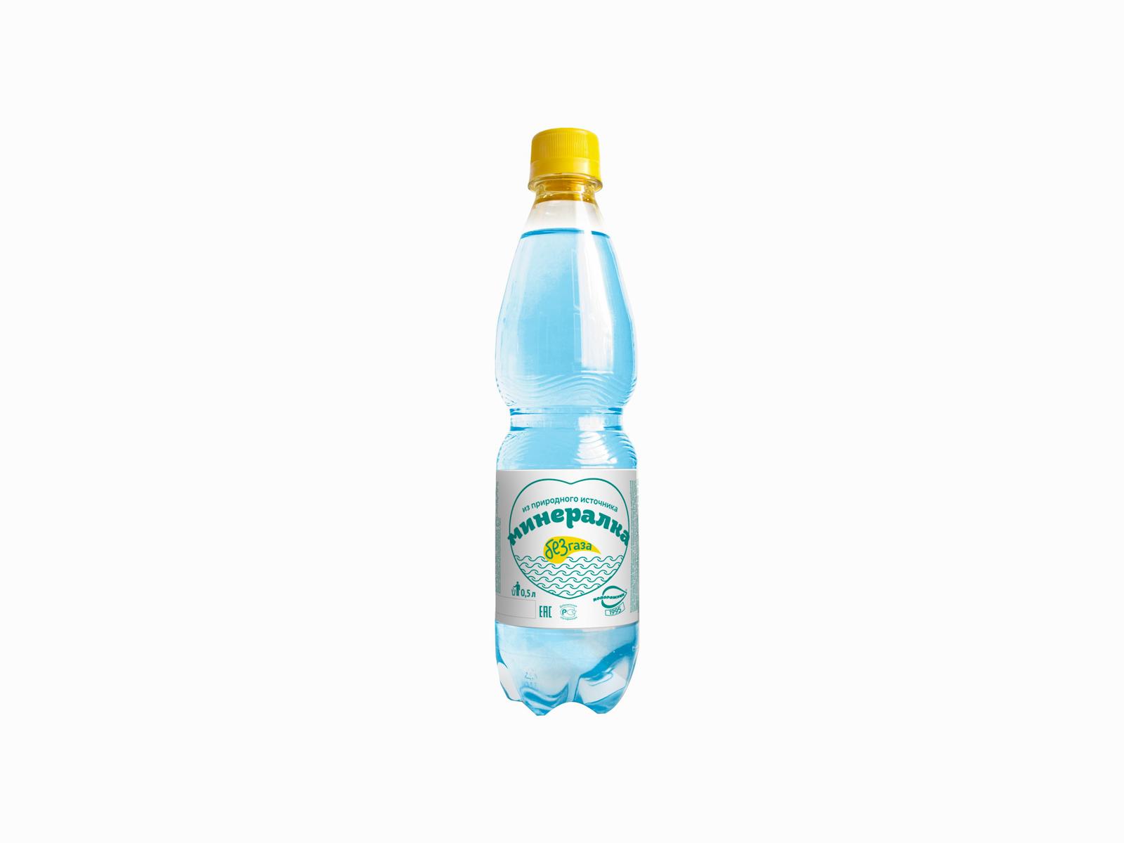 Минеральная вода Подорожник без газа