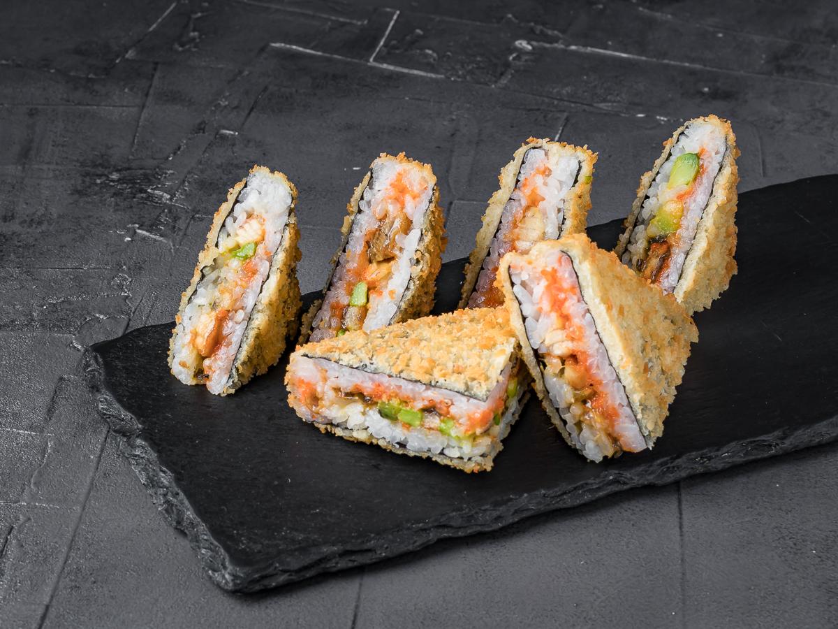 Ролл Сэндвич с угрём