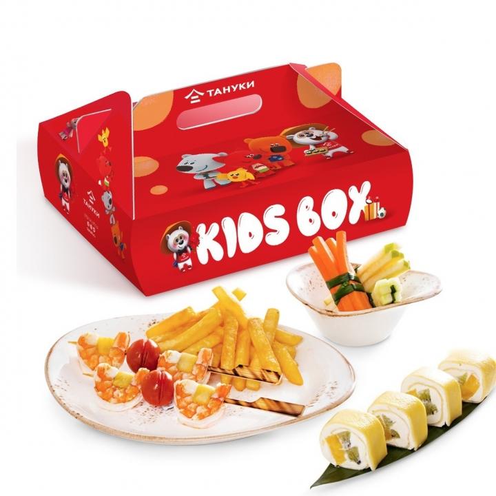 Kids Box с шашлычками из креветок