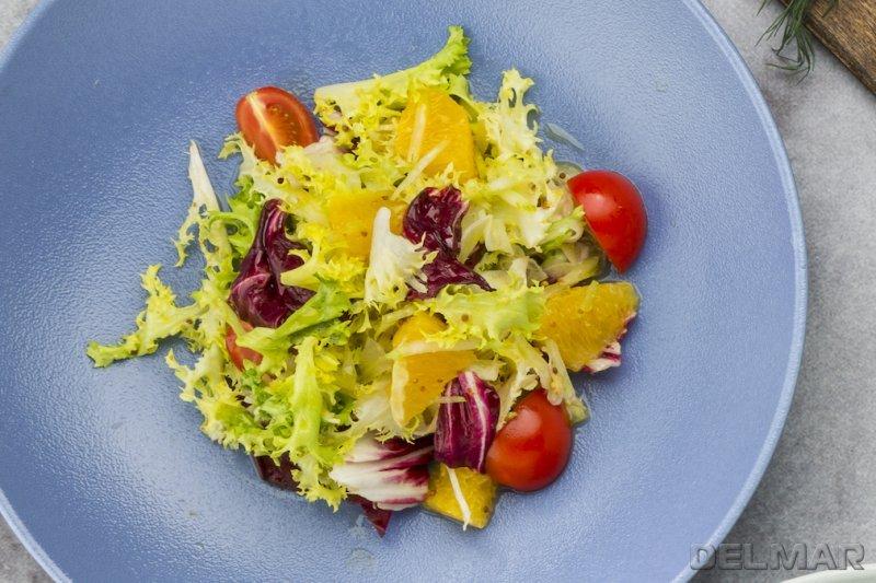 Салат с апельсиново-медовой заправкой