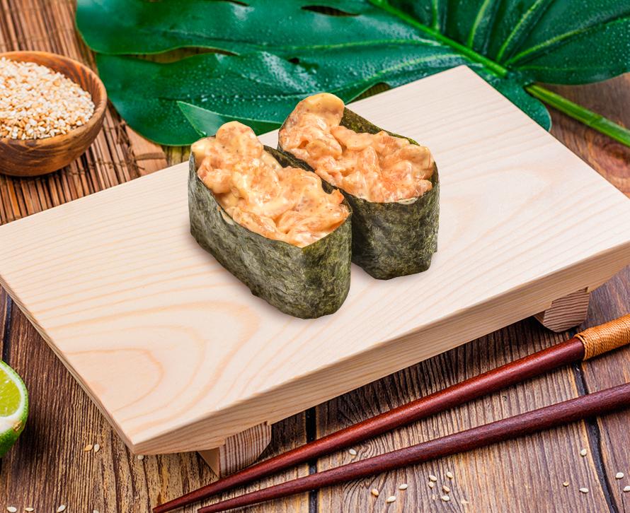 Суши острые с креветкой (2 шт.)