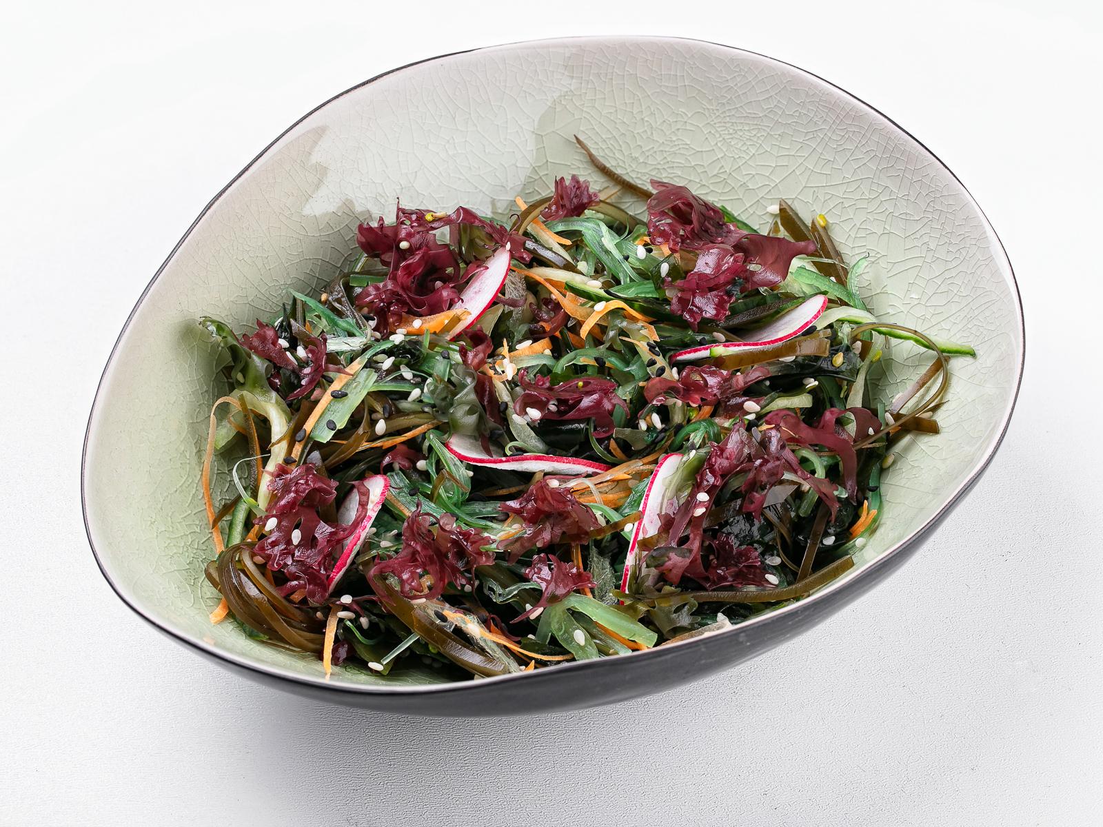 Салат с водорослями