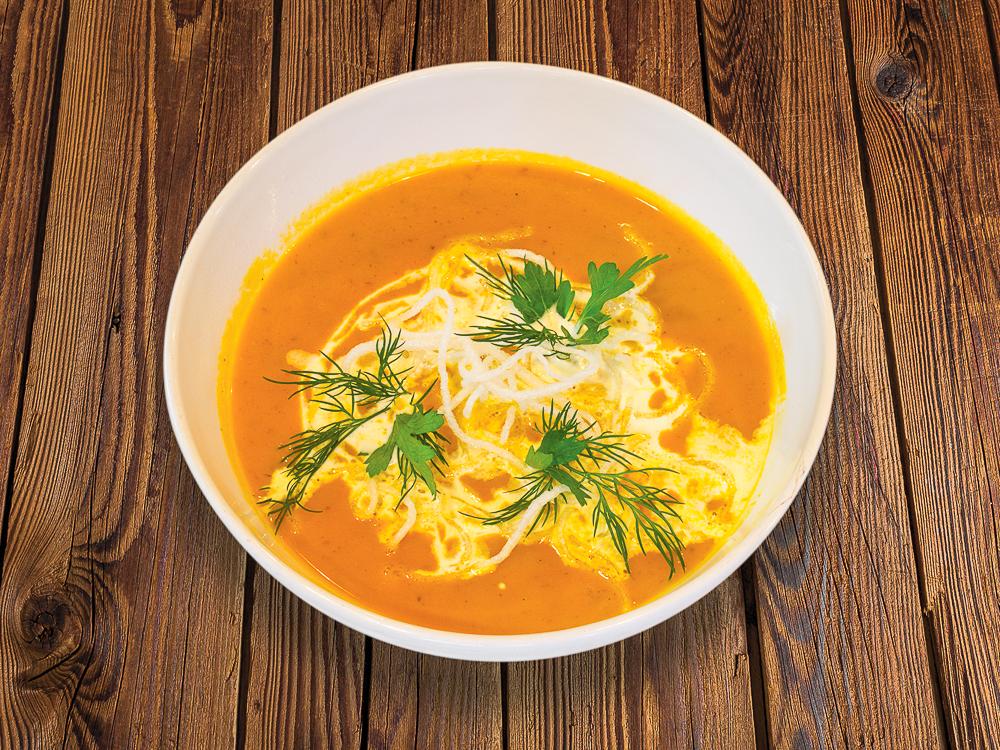 Крем суп из тыквы