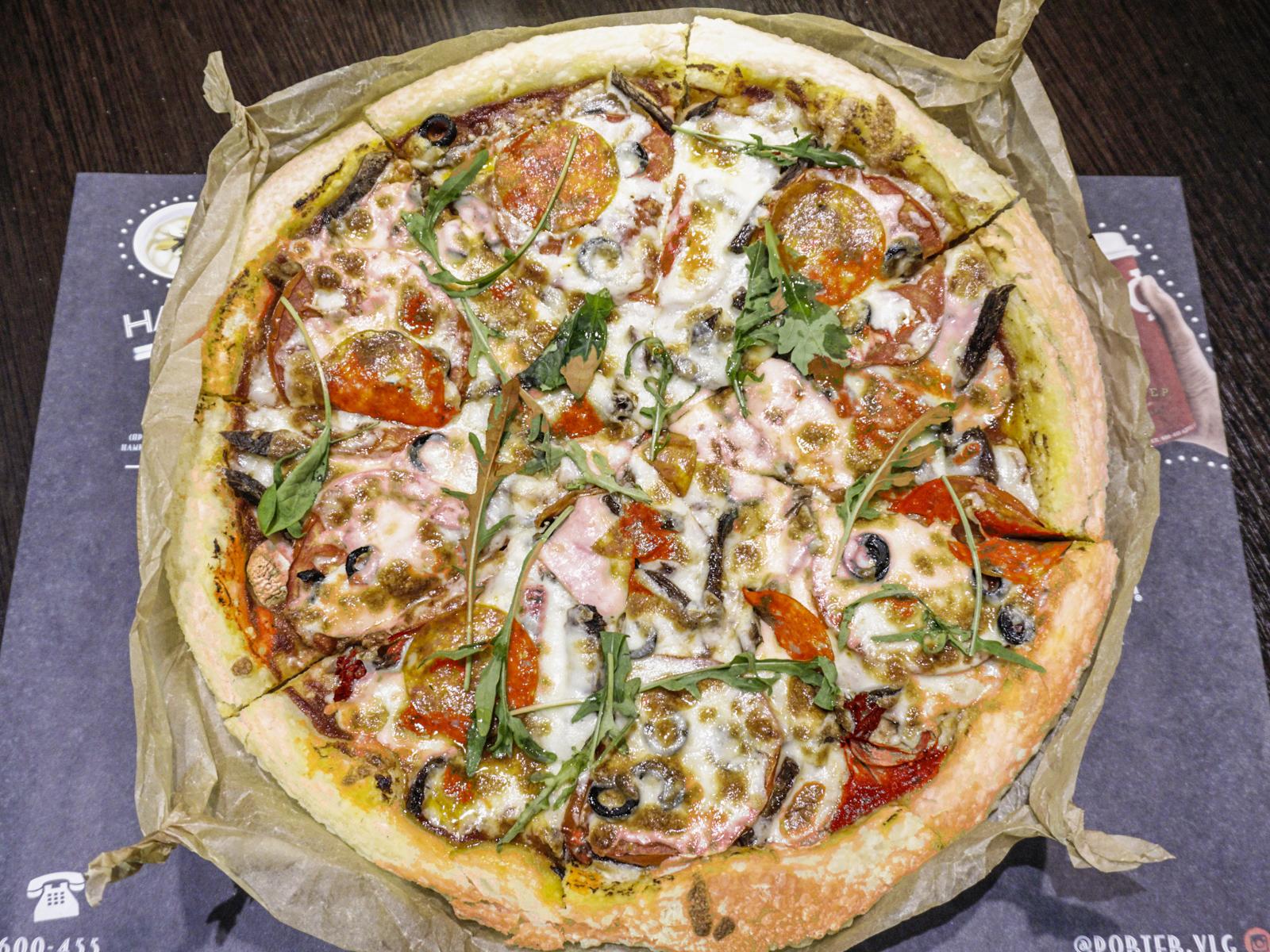 Пицца по-деревенски Портер