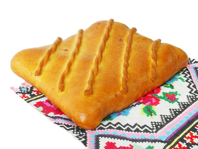 Пирог с картофелем и сыром на дрожжевом тесте