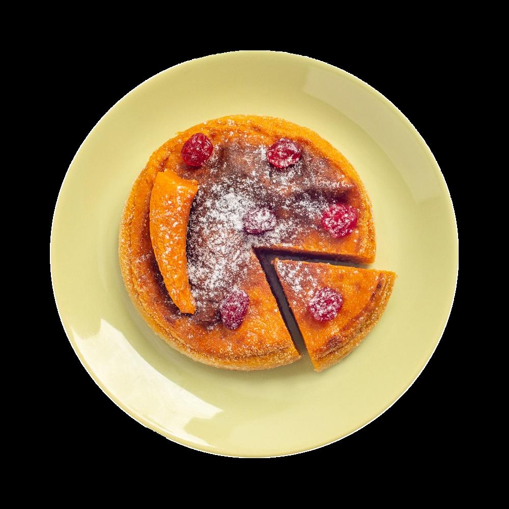 Суфле из тыквы и рикотты
